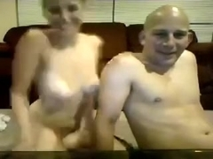 Busty black brown whore receives plowed by her bald fucker
