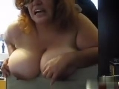 Anal time with my big tit sub
