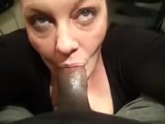 Amateur pov blowjob video is showing me giving my best to make an endowed black guy aroused and ha.