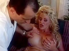 Busty Blonde MILF Michelle St. James