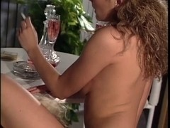 two sexy lesbian babes turn up the heat