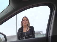 Mia Blow In Tattooed German rides strangers cock