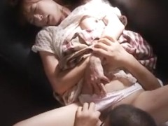 Fabulous Japanese girl in Horny Fingering, Doggy Style JAV scene