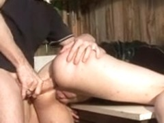 Horny French sex video