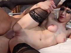 Wild babe Asphyxia loves getting fucked hard and rough