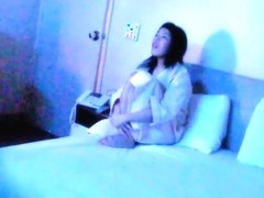 Korean couple having sex in th Hotel