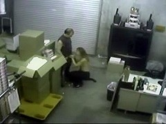 Warehouse Workers Sex Woman