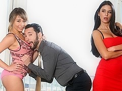 Nikki Daniels & Coffey & Tommy Pistol in Wanna Fuck My Daughter Gotta Fuck Me First #22, Scene #02