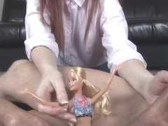 miniature strapon humiliation by heartless redhead