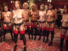 Mickey Mod & Bella Rossi & Casey Calvert & Owen Gray & Alani Pi in Masquerade Orgy With Nine Slave.