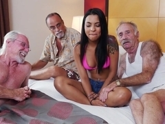 Exotic pornstar Nikki Kay in Crazy Facial, Latina sex movie