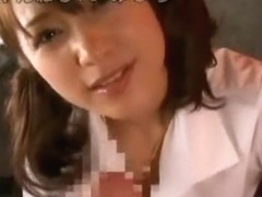 Exotic Japanese chick in Amazing Blowjob/Fera JAV movie