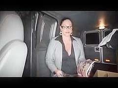Aunt Sucks not nephew's Cock In The Car
