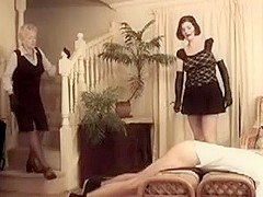 mother and NOT her daugther hard caning