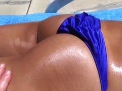 Asian amateur assfucked outdoors