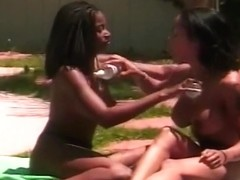 Two Black Girls Eating Each Other Out