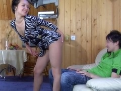 Anal-Pantyhose Movie: Mima and Rolf