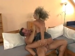 Athletic fuck with anal and facial