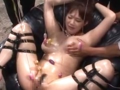 Best Japanese model Mai Nadasaka in Exotic Gangbang, BDSM JAV clip