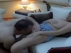 British slut wife cuckolding 1 - Getting Licked