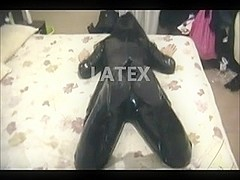 Our sex video in latex suits