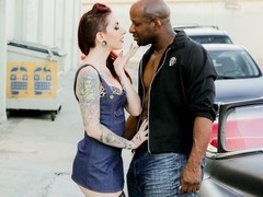 Prince Yahshua & Sheena Rose in Sheena Rose Cruises For Black Cock Scene