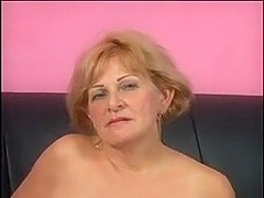 Bigtit granny  drilled by a youthful musclestud