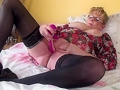 Old busty granny still needs a good fuck