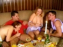 Amateur groupsex party