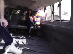 Sophie Leon in La TГ­a gets on the bus - BangBus