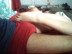Play with her nice soles 4