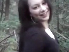Doxy sucks and receives screwed in the forest