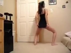 immature dancing and stripping on video