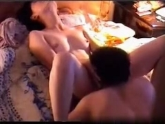 Hot asian girl with hairy pussy