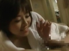 Amazing Japanese chick Azumi in Hottest JAV clip