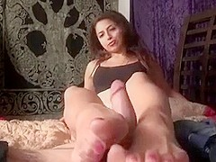 Egyptian Footjob