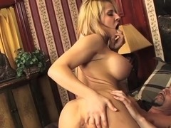 Heavy chested blonde Madison Ivy gets rammed hard