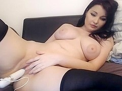 cute asian with big tits