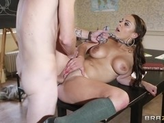 Big Tits at School: Professor's Got the Moves. Liza Del Sierra, Danny D