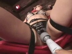 Gaged Japanese Hotty Play With A Sex Toy