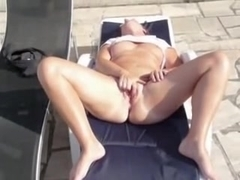 pool hot orgasm