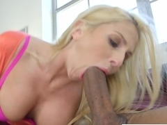 Big Black Dick For Blonde MILF