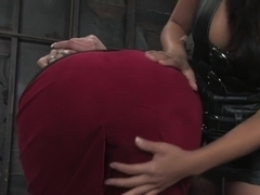 Incredible lesbian, fetish sex movie with crazy pornstars Delilah Strong and Gianna Lynn from Whippedass