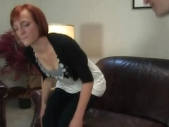 Renee Broadway in Amateur Casting Couch 21: Renee Broadway, Those Fucking Readheads - HogTied