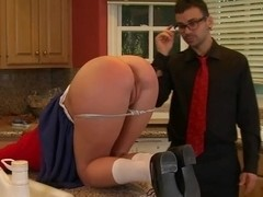 Fucking a nanny after a business meeting