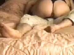wife fucking in black teddy and stockings