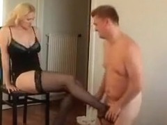 Horny amateur Fetish, Stockings adult movie