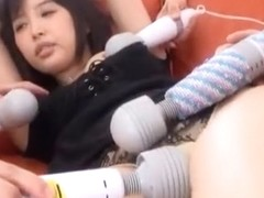 Best Japanese chick Tsukasa Aoi in Crazy Dildos/Toys, Gangbang JAV movie