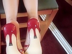 Feet in Front of the Mirror