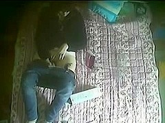 My not sister testing her new toy. Hidden cam